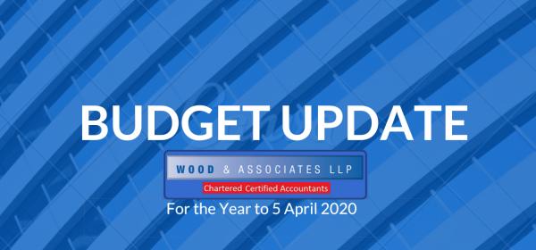Budget Update 05.04.2020