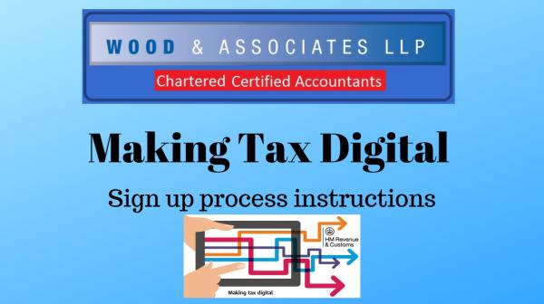 Making Tax Digital Sign Up